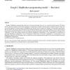 Google's MapReduce programming model - Revisited
