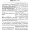 GOP-Level Dynamic Thermal Management in MPEG-2 Decoding