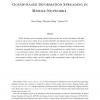 Gossip-based Information Spreading in Mobile Networks
