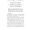 Granular Computing Based on Rough Sets, Quotient Space Theory, and Belief Functions