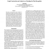 Graph Construction and Analysis as a Paradigm for Plan Recognition