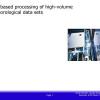 Grid-Based Processing of High-Volume Meteorological Data Sets