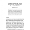 Handling Uncertainty and Multiple Perspectives for Learner Modeling by Cognitive Mapping