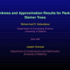 Hardness and Approximation Results for Packing Steiner Trees