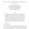 Hardware Performance Characterization of Block Cipher Structures