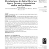 Help features in digital libraries: types, formats, presentation styles, and problems