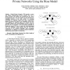 Hierarchical Provisioning Algorithm for Virtual Private Networks Using the Hose Model