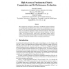High Accuracy Fundamental Matrix Computation and Its Performance Evaluation