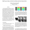 High-Frequency Shape and Albedo from Shading using Natural Image Statistics