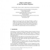 High Level Description of Video Surveillance Sequences