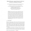 High-Performance Agent System for Intrusion Detection in Backbone Networks