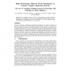 High Performance Discrete Event Simulations to Evaluate Complex Industrial Systems