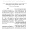 High Resolution Tracking of Non-Rigid 3D Motion of Densely Sampled Data Using Harmonic Maps