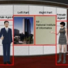 Highly Realistic 3D Presentation Agents with Visual Attention Capability