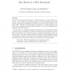 How Recent is a Web Document?