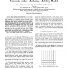 How to improve the performance in Delay Tolerant Networks under Manhattan Mobility Model