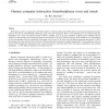 Human-computer interaction: Interdisciplinary roots and trends