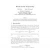Hybrid Dynamic Programming