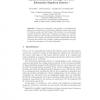 Hybrid Method for Solving New Pose Estimation Equation System