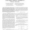 Hybrid Model of Least Squares Handover Algorithms in Wireless Networks