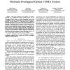 Hybrid Power/Overlap Allocation Scheme for a Multirate Overlapped Optical CDMA System