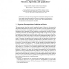 Hypertree Decompositions: Structure, Algorithms, and Applications