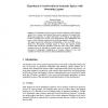 Hypothesis Corroboration in Semantic Spaces with Swarming Agents
