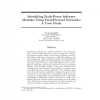 Identifying Fault-Prone Software Modules Using Feed-Forward Networks: A Case Study