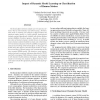Impact of Dynamic Model Learning on Classification of Human Motion