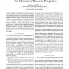 Impact of Information on Network Performance - An Information-Theoretic Perspective