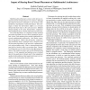 Impact of Sharing-Based Thread Placement on Multithreaded Architectures