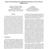 Impact of Switch Design on the Application Performance of Cache-Coherent Multiprocessors