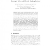 Impact of Trust Management and Information Sharing to Adversarial Cost in Ranking Systems