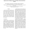 Implementation of Intelligent Agents with Mobility in Educational Robotics Settings