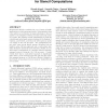 Implicit and explicit optimizations for stencil computations