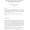 Improved construction for universality of determinant and permanent