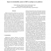 Improved Schedulability Analysis of EDF on Multiprocessor Platforms
