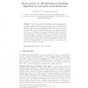 Improvement of a Wavelet-Tensor Denoising Algorithm by Automatic Rank Estimation