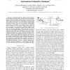 Improvement of model-mediated teleoperation using a new hybrid environment estimation technique