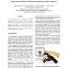 Improvement of Shape Distinction by Kinesthetic-Tactile Integration