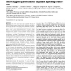 Improving gene quantification by adjustable spot-image restoration