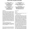 Improving genetic algorithms performance via deterministic population shrinkage