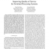 Improving quality of service for switched processing systems
