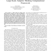 Improving the performance of Uintah: A large-scale adaptive meshing computational framework