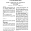 In-group/out-group effects in distributed teams: an experimental simulation