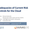 Inadequacies of Current Risk Controls for the Cloud