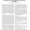 Incompleteness and Incomparability in Preference Aggregation