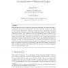 Incompleteness of Behavioral Logics