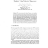Incremental Training of Support Vector Machines Using Truncated Hypercones