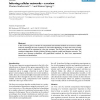 Inferring cellular networks - a review